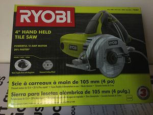 "RYOBI 4"" hand held tile saw for Sale in Tacoma, WA"