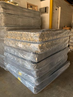 Orthopedic mattress and box spring delivery available for Sale in Geneva, IL