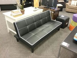 Bonded leather futon for Sale in Tampa, FL