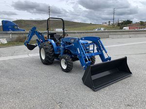 LS MT225HE TRACTOR FOR SALE WITH A FRONT LOADER AND A BACKHOE for Sale in Redlands, CA