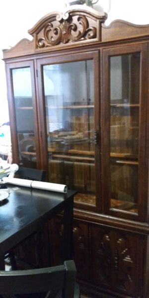 Antique China cabinet - Negotiable for Sale in The Bronx, NY