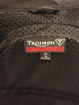 Triumph Motorcycle Jacket for Sale in Plano, TX