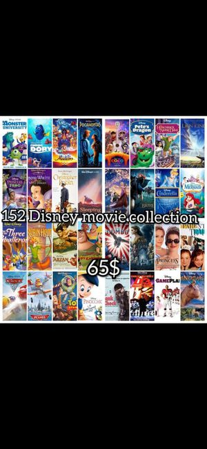 Disney usb movie collection for Sale in Bellflower, CA