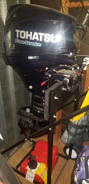Boat motor Tohatsu 9.9 Hp fuel injection fourstroke for Sale in San Diego, CA