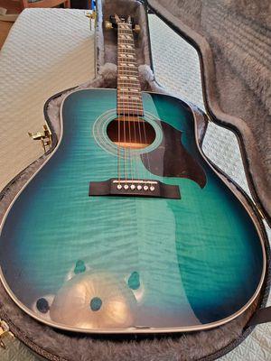 Epiphone Hummingbird Artist acoustic for Sale in Everett, WA