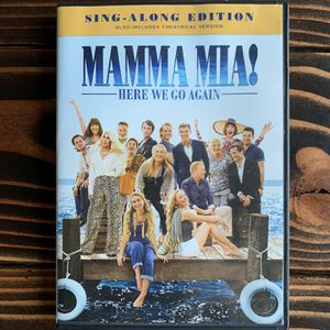 Mamma Mia! 2: Here We go Again DVD (sing-along option edition) for Sale in Portland, OR