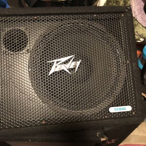 I have four speakers two fender and 2PV floor monitors non-powered good working I like to see them gone because I updated my sound system for Sale in Silver Spring, MD