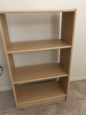 Wood bookshelves for Sale in Mesa, AZ