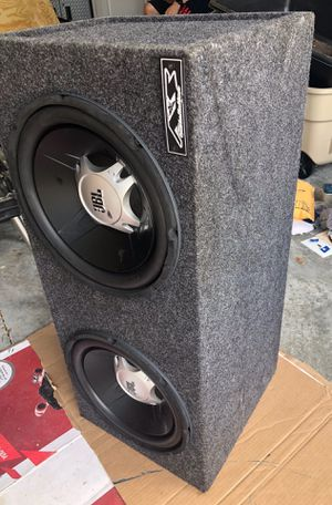 JBL 12 inch Subwoofers with JBL 360 Watt Amplifier Model GTO3501 for Sale in Riverview, FL