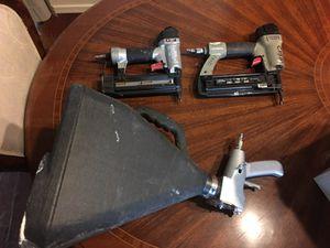 """Hopper gun and 2 nail guns 18"""" for Sale in Avondale, AZ"""