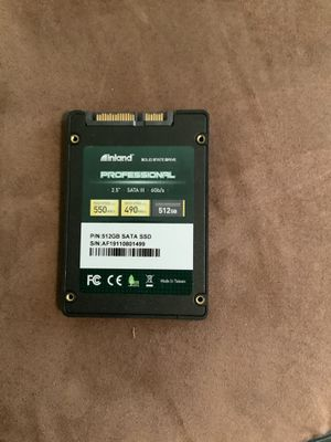 512 GB SSD DRIVES (read details) for Sale in Chicago, IL