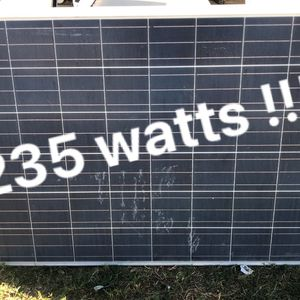 235 Watts Solar Panels Available for Sale in Moreno Valley, CA
