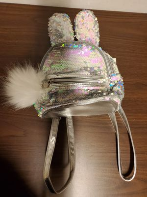 Justice Bunny Flip Sequin Mini Backpack for Sale in W CNSHOHOCKEN, PA