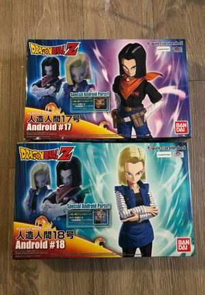 Dragonball z Figures (androids) for Sale in Tampa, FL