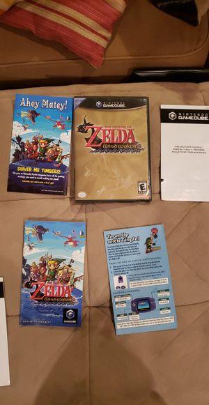 Super mario sunshine and zelda windwaker for Nintendo gamecube!!! for Sale in Cherry Hill, NJ