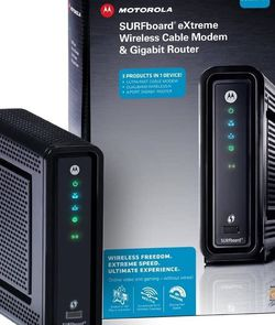Motorola ARRIS SBG6580-G228 Cable Modem & Wi-Fi Router for Sale in Bothell,  WA