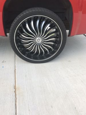 26-inch Tires and Rims for Sale in Hattiesburg, MS