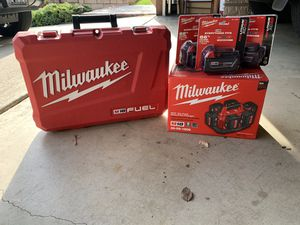 Milwaukee 18v fuel brushless combo for Sale in City of Industry, CA
