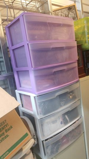 2 large sterile drawers good for kids clothing toys etc for Sale in Seattle, WA