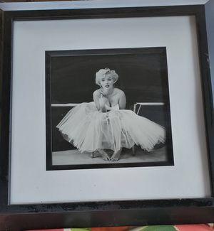 Marilyn Monroe framed picture for Sale in Beaverton, OR