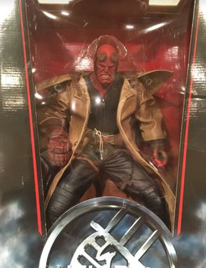Mezco Hellboy sammael action figure Neca mc farlane sideshow collectibles hot toys marvel legends for Sale in Los Angeles, CA