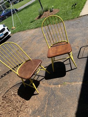 Beautiful yellow chairs for Sale in Edwardsville, IL