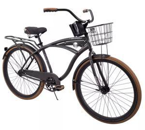 "Huffy 26"" Nel Lusso Men's Single-Speed Comfort Cruiser Bike, Black for Sale in Tampa, FL"