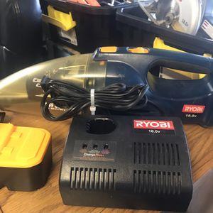 Ryobi 18v Vacuum -New Battery-Charger for Sale in Punta Gorda, FL