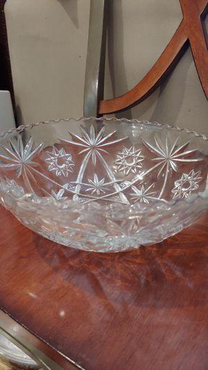 Crystal bowl for Sale in Gaithersburg, MD