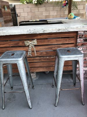 Metal bar stools for Sale in West Covina, CA