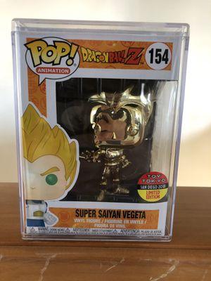 Super Saiyan Vegeta Gold Funko POP: 154 for Sale in Everett, WA