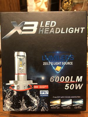 Water Proof H11 LED Headlights (Brand New) for Sale in Long Beach, CA