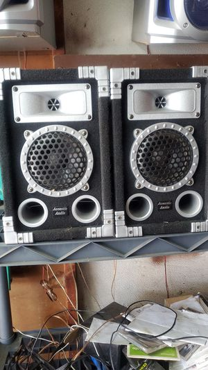 Good condition Acoustic Audio speaker for Sale in Dolton, IL