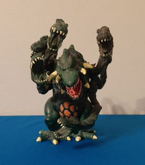 Vintage Trendmasters Godzilla Biollante Figure Toy Toho Co. 1995 RARE Monster. for Sale in Irwindale, CA