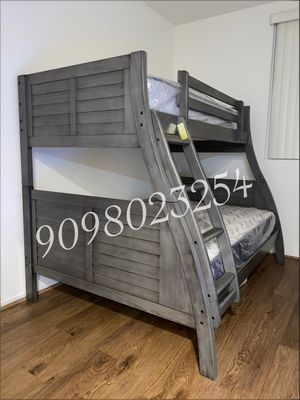 Full/twin bunkbeds with mattress included for Sale in La Habra Heights, CA