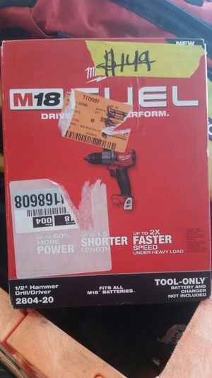 Milwaukee 1/2 Hammer Drill/ Driver for Sale in Phoenix, AZ