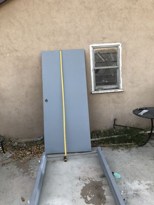 Metal security new door w , frame for Sale in Fontana, CA