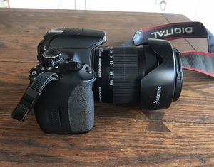 Canon Rebel T4i Camera w/ 18-135mm EF-S Lens for Sale in Los Angeles, CA
