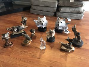 Wolf statues artist (CAIN) for Sale in Davenport, FL