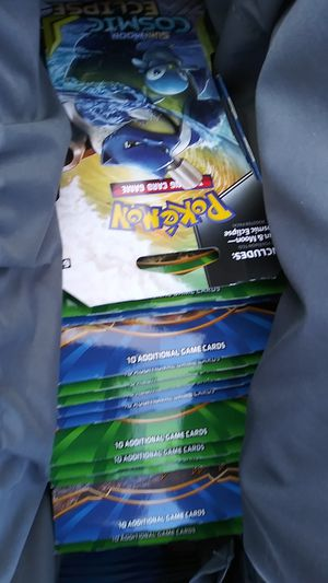 Pokemon card booster packs sealed for Sale in Tacoma, WA