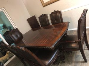 Selling Dining Table 6 Chairs for Sale in Dallas, TX