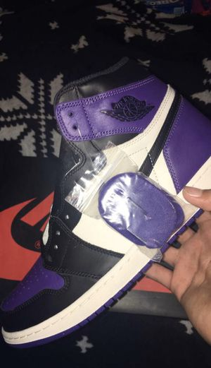 Jordan 1 court purple size 12 for Sale in Bloomington, IL