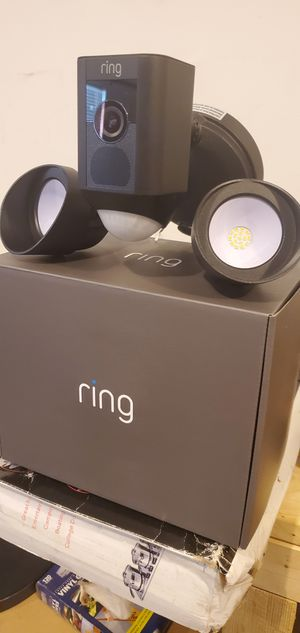 Ring floodlight camera for Sale in Marvin, NC