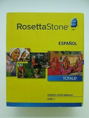 Rosetta Stone Spanish and English, French, Portuguese for Sale in SUNNY ISL BCH, FL