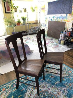 ANTIQUE - 2 CRAFTSMAN MISSION OAK CHAIRS / 113 Years Old for Sale in North Las Vegas, NV