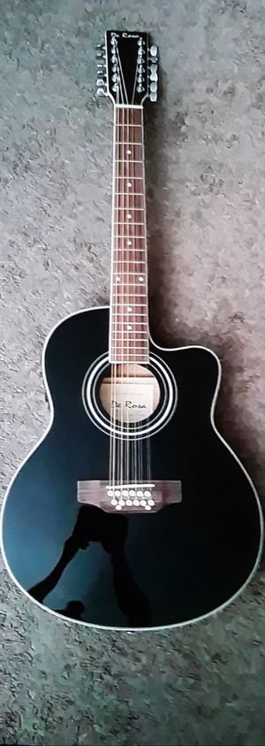 Brand new jumbo grand 12 string acoustic electric guitar for Sale in Mount Juliet, TN