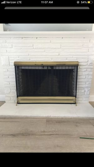 Heavy big fireplace screen stand for Sale in Lodi, CA