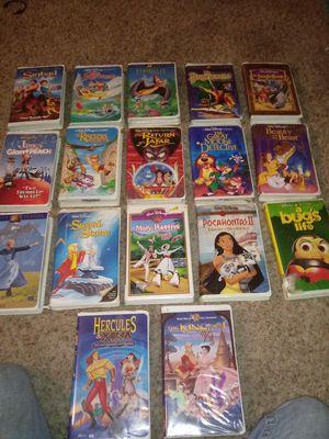 Disney vhs lot for Sale in Colorado Springs, CO