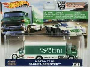Hot Wheels Team Transport Mazda 787B & Sakura Sprinter for Sale in San Diego, CA