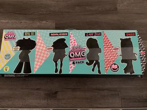 LOL Surprise OMG 4 Pack Fashion Dolls Series 1 Complete Set 80 Surprises ~RARE! for Sale in Fontana, CA